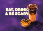Dunkin's new Halloween drink is the Peanut Butter Macchiato, and it's inspired by peanut butter cup ...