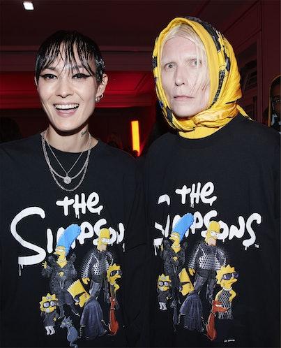Balenciaga x 'The Simpsons' Collaboration