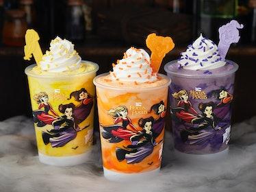 These Carvel 'Hocus Pocus' milkshakes include three bewitching flavors.