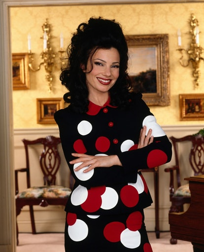 Fran Fine in The Nanny is a prime Halloween costume idea for someone with curly hair