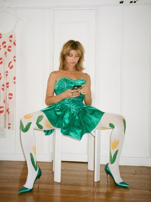 Birthday Girl Shop tulip tights