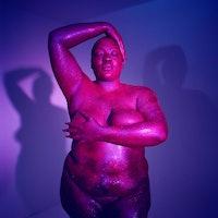 Fat, black femme art photography