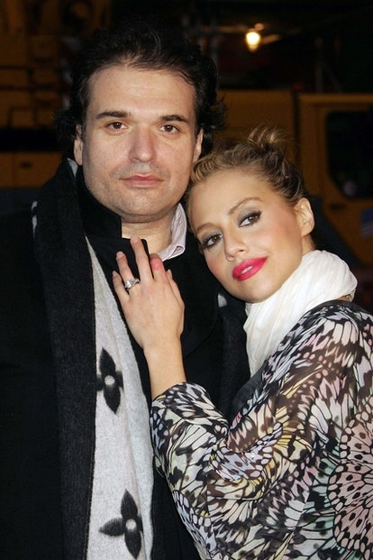 Brittany Murphy, who died in 2009, and her husband Simon Monjack.