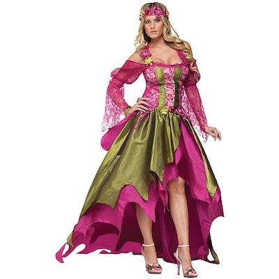 long dress fairy queen costume
