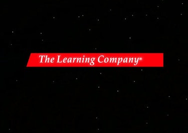 A screenshot of The Learning Company's logo