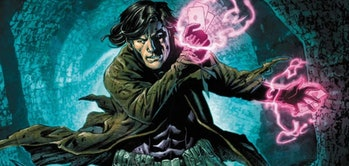 Gambit readying an attack in Astonishing X-Men Vol. 3 #48