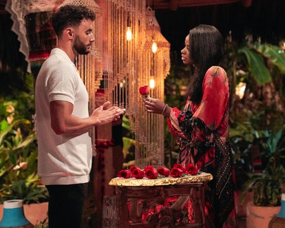 In Pieper James' 'Bachelor Happy Hour' interview about Brendan Morais, she called her boyfriend out ...