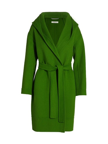 Daisy Hooded Robe Coat