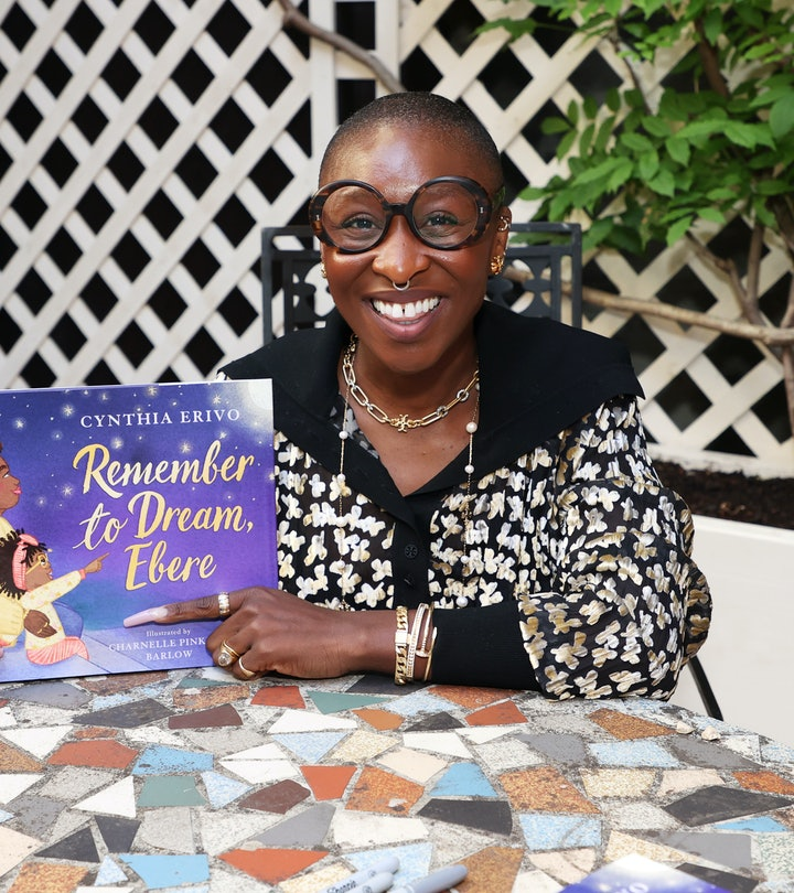 Cynthia Erivo With Her New Book Remember To Dream Ebere