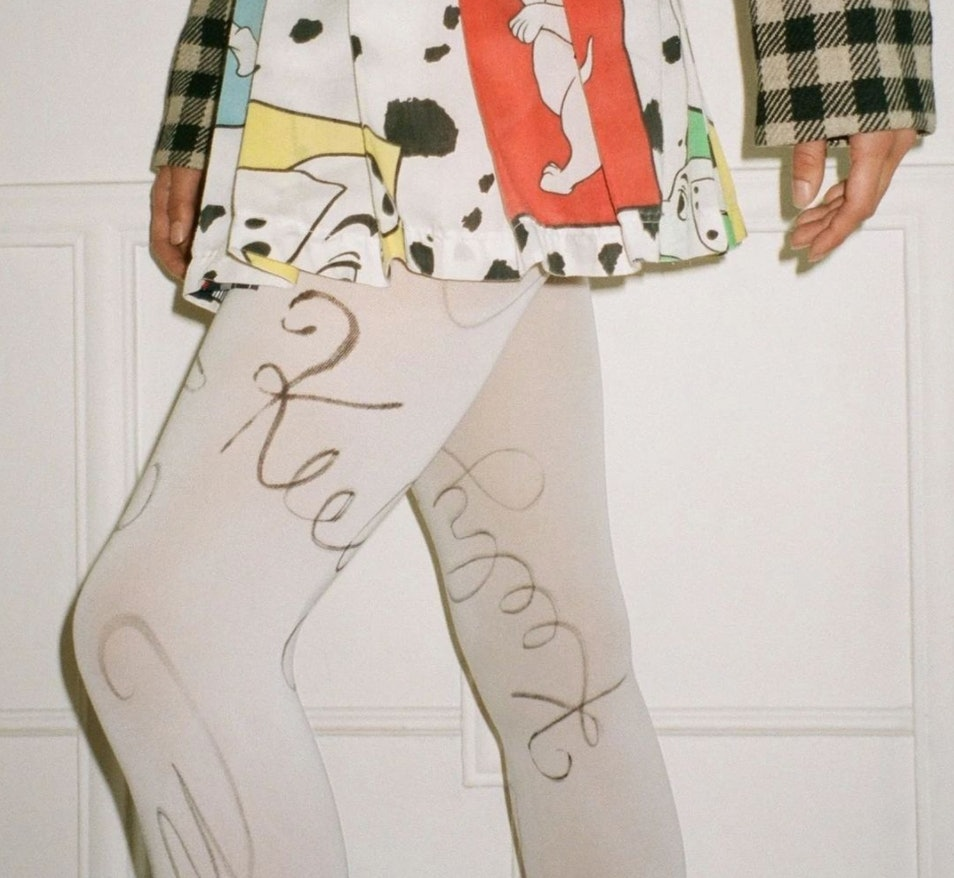 Birthday Girl Shop tights with your name on them