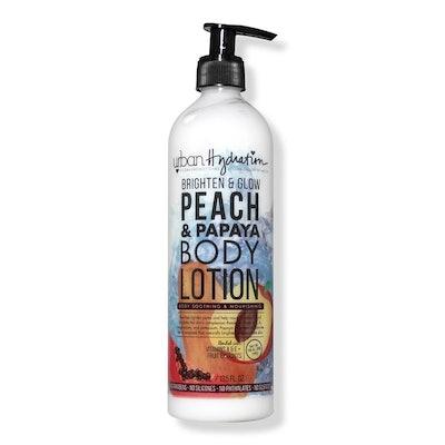 Urban Hydration Brighten & Glow Peach & Papaya Body Lotion