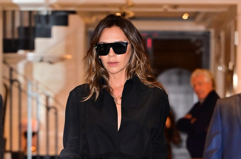 NEW YORK, NEW YORK - OCTOBER 13: Victoria Beckham is seen on the Upper East Side on October 13, 2021...