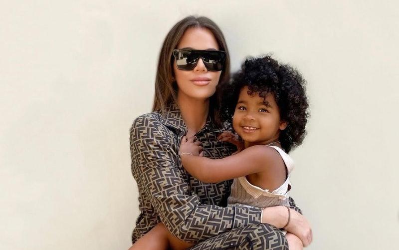 Khloé Kardashian and True Thompson