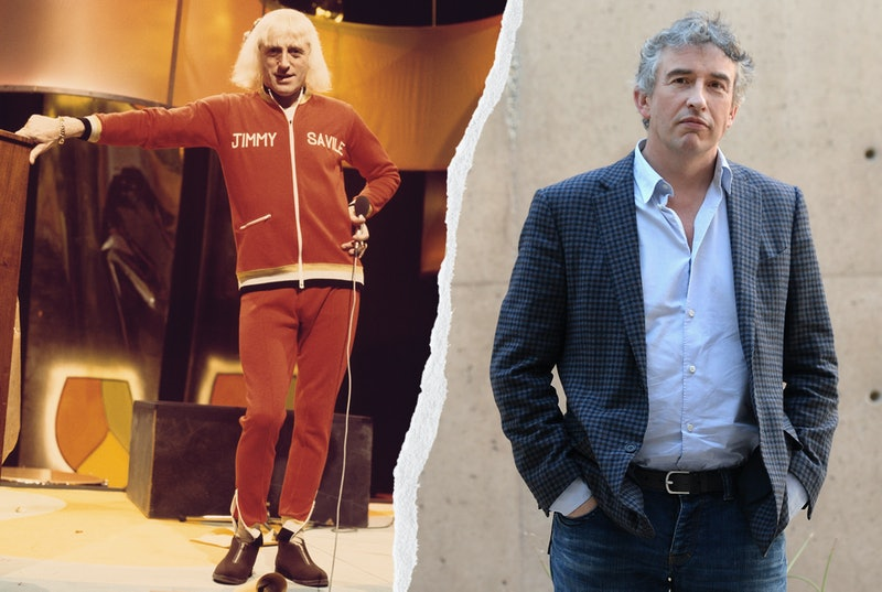 Jimmy Savile archive image and Steve Coogan