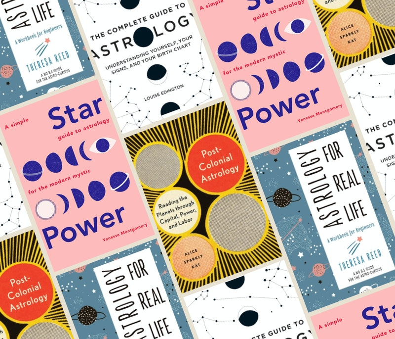 'Star Power,' 'Astrology for Real Life,' 'The Complete Guide to Astrology,' and 'Post-Colonial Astro...