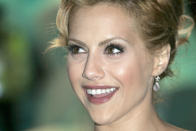 Brittany Murphy at the 'Happy Feet' premiere in London in 2006.