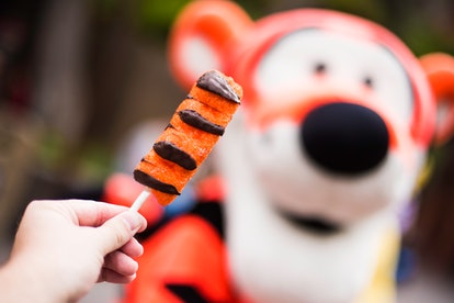 The Tigger Marshmallow Tail is part of Disney's 95th anniversary celebration of Winnie the Pooh food...