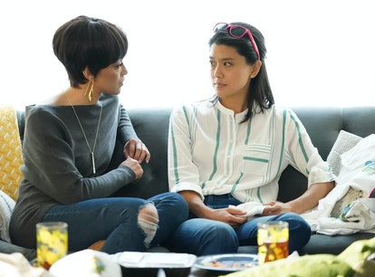 Grace Park as Katherine and Nikiva Dionne as Shanice in 'A Million Little Things'