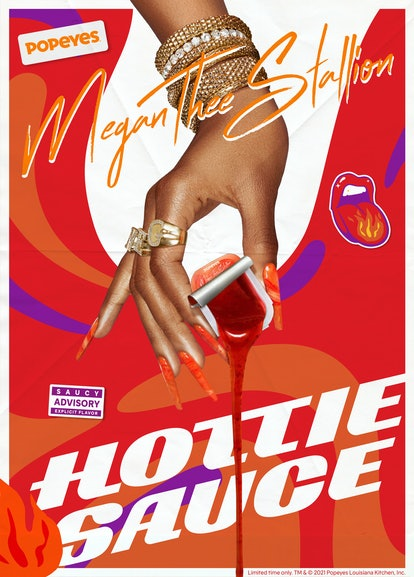 Here's what to know about the Popeyes' Megan Thee Stallion Hottie Sauce and merch collaboration.