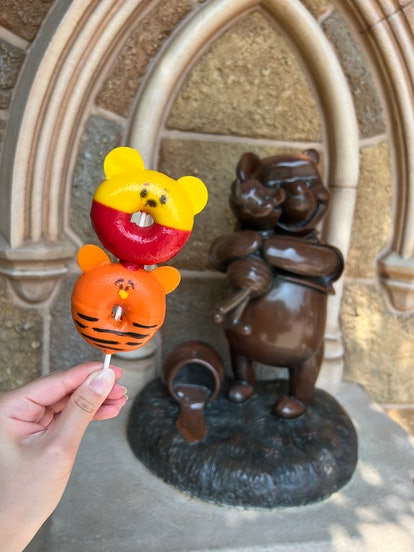 At Hong Kong Disneyland, you can enjoy some Disney Parks' Winnie the Pooh food as part of the 95th a...