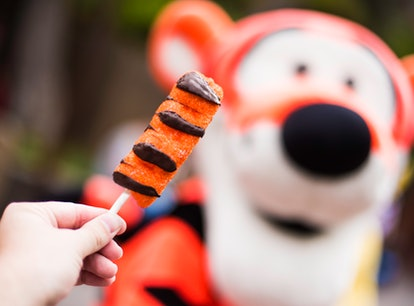 The Disney Parks are celebrating Winnie the Pooh's 95th anniversary with food like this Tigger tail ...