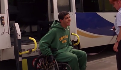 Drake nearly quit Degrassi over his character Jimmy's wheelchair storyline