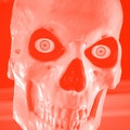 The Home Depot 12-foot skeleton's skull
