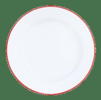 Vintage Enamel Dinnerware Sets (Set of 4)