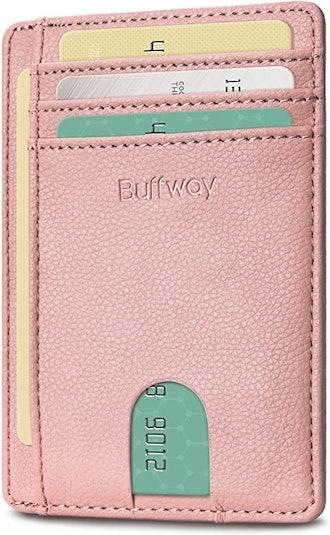 Buffway Minimalist Leather Wallet