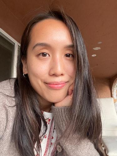 Marina Liao selfie.