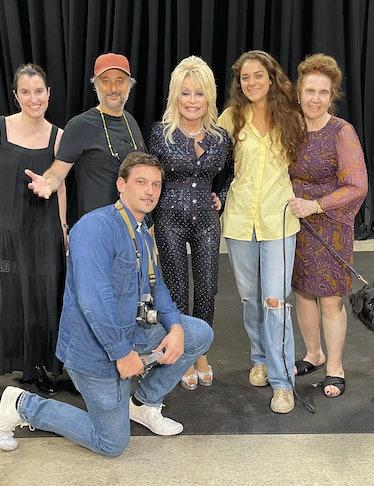 From left: Visuals and Content Director Alexandra Ben-Gurion, photographer Harmony Korine, photo ass...