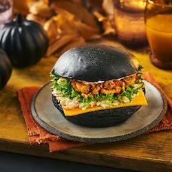Sainsbury's Halloween Sandwich: Spicy Hell's Chicken Sandwich