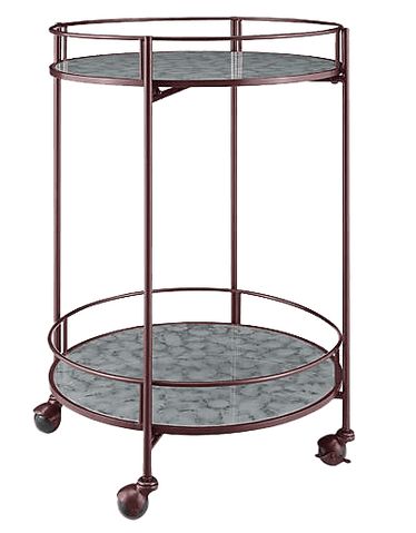 Bar Cart in Red