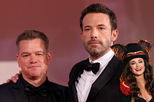 Matt Damon and Ben Affleck Sob While Kyle Richards Just Laughs; the Boys Are Inconsolable