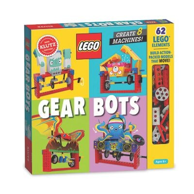 a set for making robots out of Legos