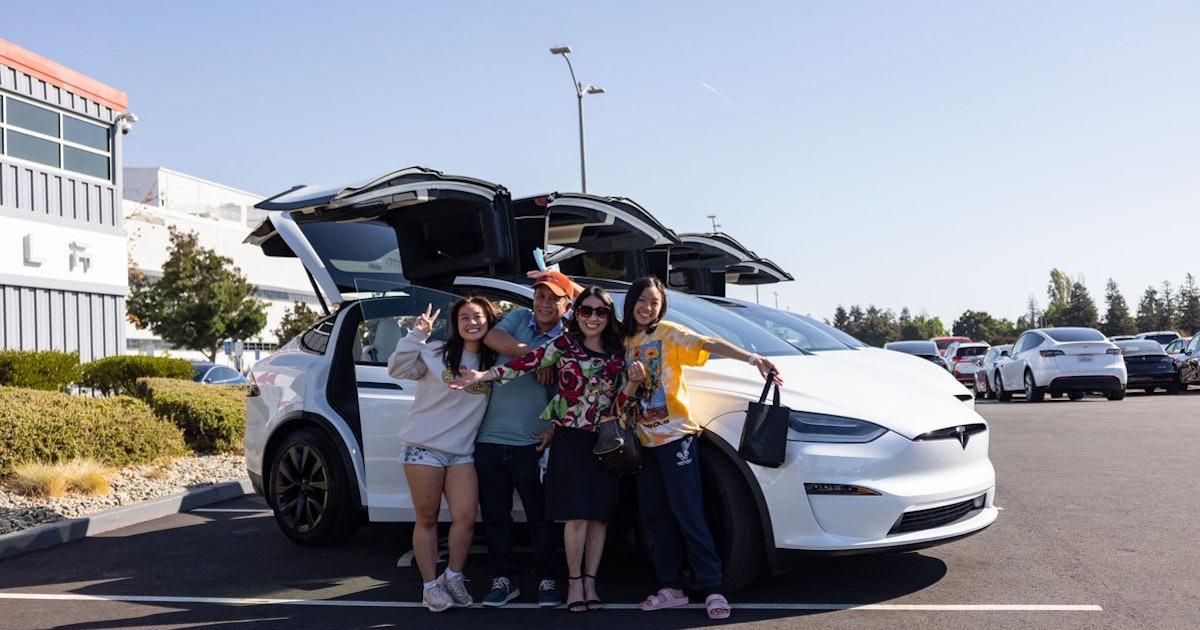 Tesla Model X: Impressive photos and videos show major redesign