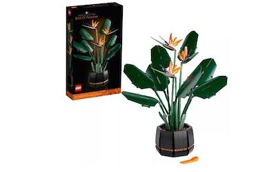 lego bird of pardise plant set