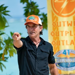 Jeff Probst kicks off 'Survivor 41' with a change to his catchphrase.