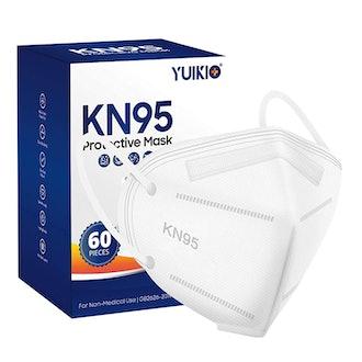 YUIKIO KN95 Face Masks (60-Pack)