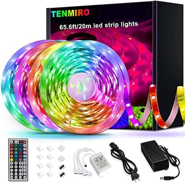 Tenmiro 65.6ft Led Strip Lights Color Changing