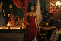 Zazie Beetz as Mary Fields (aka Stagecoach Mary) in 'The Harder They Fall.'