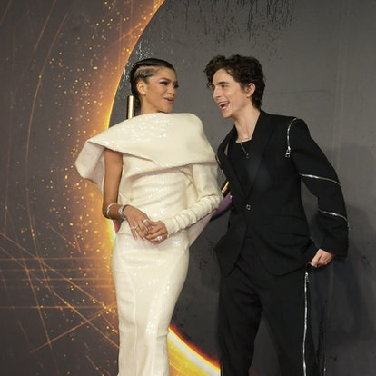 Timothée Chalamet and Zendaya — whose zodiac signs are a friendship match made in heaven — attend a ...