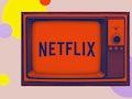 Netflix's logo on a TV