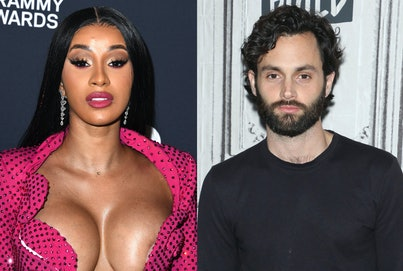 Cardi B and Penn Badgley are fans of each other