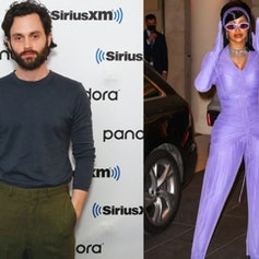 Penn Badgley and Cardi B are fans of one another.