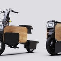 A Japanese startup called Icoma has introduced an electric motorbike that can fold up for easy stora...