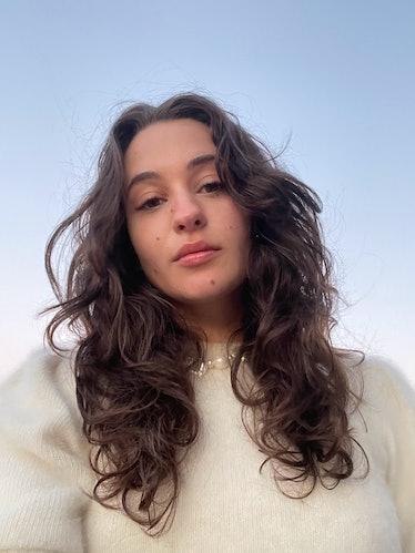 Isabella Sarlija hair photo with Crown Affair shampoo & conditioner