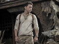 Tom Holland as Nathan Drake in 'Uncharted'