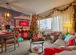 The Club Wyndham in NYC has one of the Hallmark Channel movie-inspired rooms that you can stay at th...