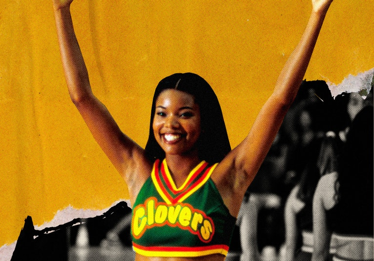 Gabrielle Union stars as Isis in the classic teen film 'Bring It On.'